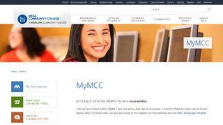 Mcc Student Portal