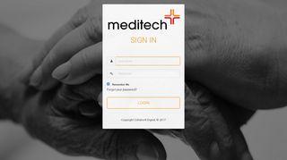 Meditech Portal