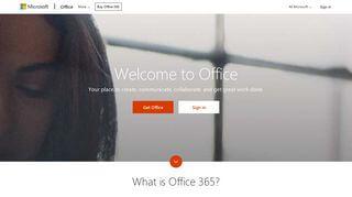 Microsoft 0365 Portal