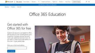 Microsoft Office Education Portal