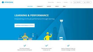 Milestone Learning Portal