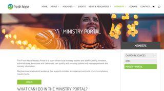 Ministry Portal