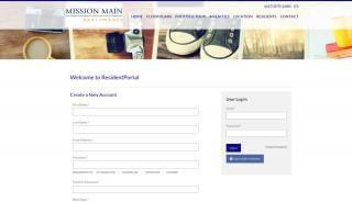 Mission Main Resident Portal