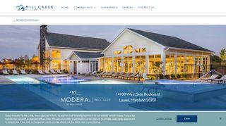 Modera Westside Resident Portal