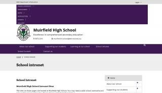 Muirfield Student Portal