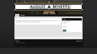My Benefits Portal