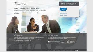 My Citrix Partner Portal
