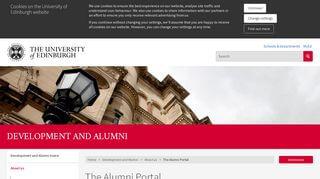 My Ed Alumni Portal