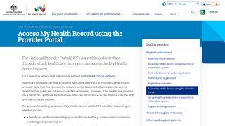 My Health Portal