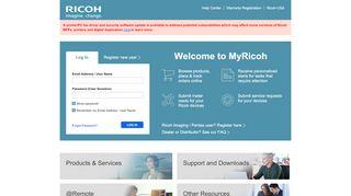 My Ricoh Portal