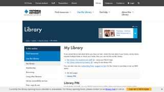 My Vu Portal Library