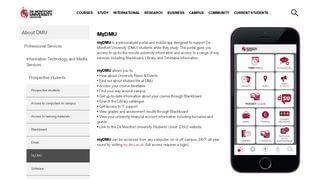 Mydmu Student Portal