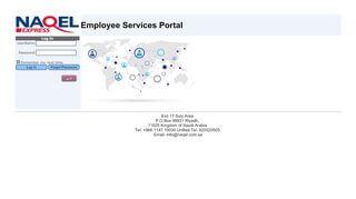 Naqel Employee Portal