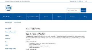 National Vision Workforce Portal