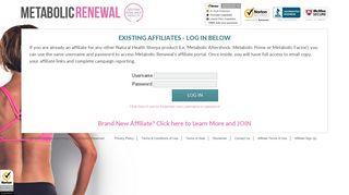Natural Health Sherpa Metabolic Renewal Login