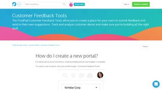 New Portal Pad