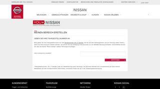 Nissan Eigentum Portal