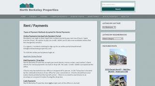 North Berkeley Properties Portal