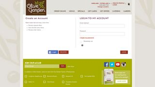 Olive Garden Portal