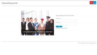 Onboarding Portal Emirates