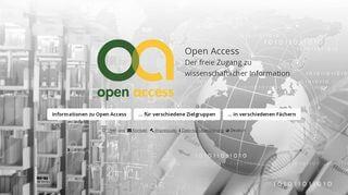 Open Access Portal