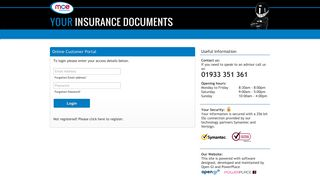 Open Customer Portal