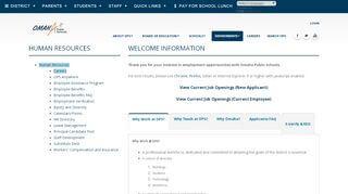 Ops Careers Employee Portal