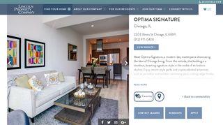Optima Signature Resident Portal