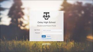 Oxley High School Student Portal