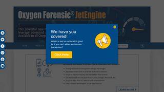 Oxygen Forensics Customer Portal