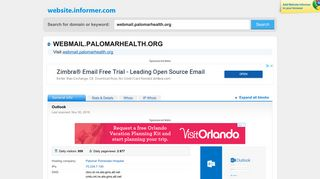 Palomar Webmail Login
