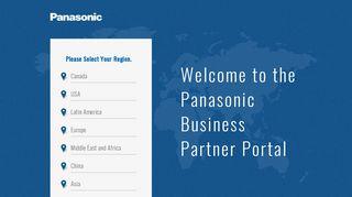 Panasonic Business Portal