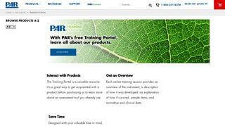 Par Training Portal