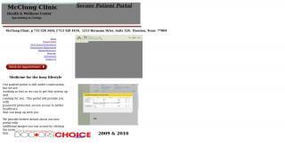 Patient Portal Mclung Clinic