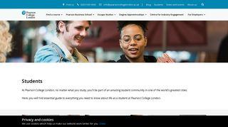 Pearson College Student Portal