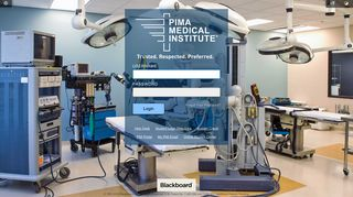 Pima Medical Institute Blackboard Login