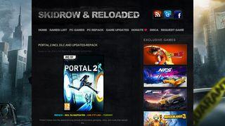 Portal 2 Tpb Skidrow