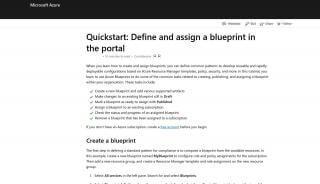 Portal Blueprints