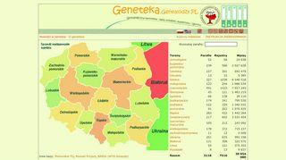 Portal Genealogiczny