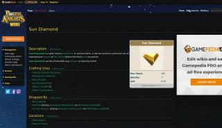 Portal Knights Sun Diamond
