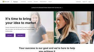 Portal Microsoft Partner