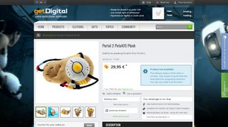 Portal Plush Glados