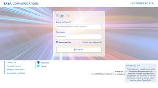 Portal Tata Communications