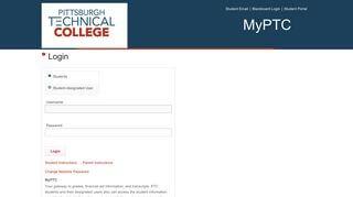 Pti Student Portal