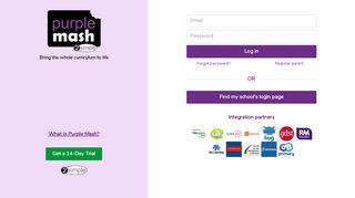 Purple Mash Portal