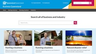 Queensland Government Business And Industry Portal