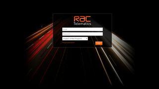 Rac Telematics Portal