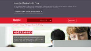 Reading Student Portal