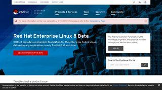 Red Hat Customer Portal