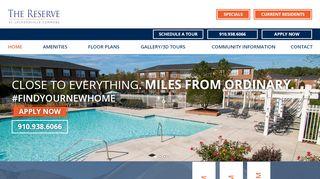 Reserve Jacksonville Resident Portal